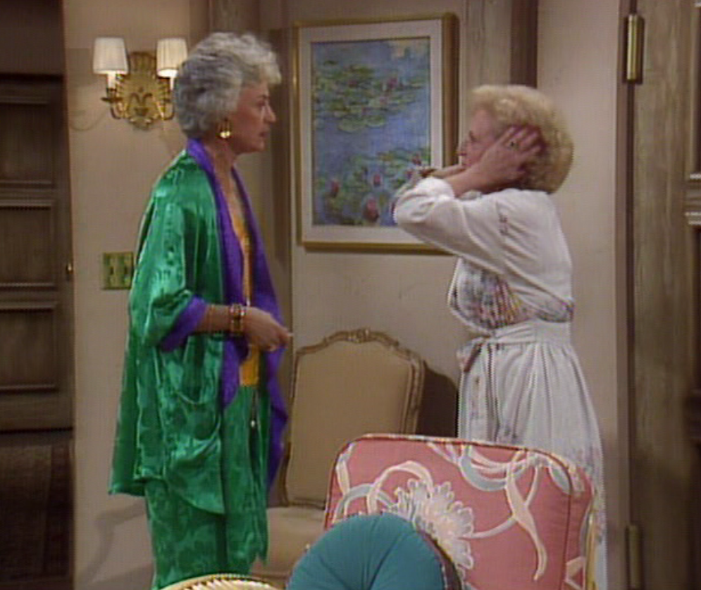 Season 1 episode 14 that was no lady as reviewed by for Why did bea arthur leave golden girls